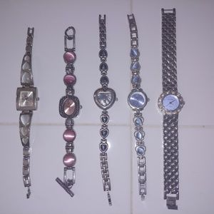 Lot of 5 fashion watches
